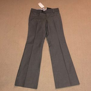 Banana Republic Petite Martin Fit Gray Trousers